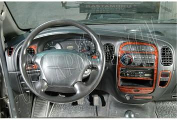 Volkswagen Passat B5.5 Typ 3BG 07.04 - 06.05 Interior Dashboard Trim Kit Dashtrim accessories, wood grain, camouflage, carbon fi