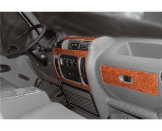 Daewoo Leganza 09.1997 Interior Dashboard Trim Kit Dashtrim accessories, wood grain, camouflage, carbon fiber, aluminum dash kit