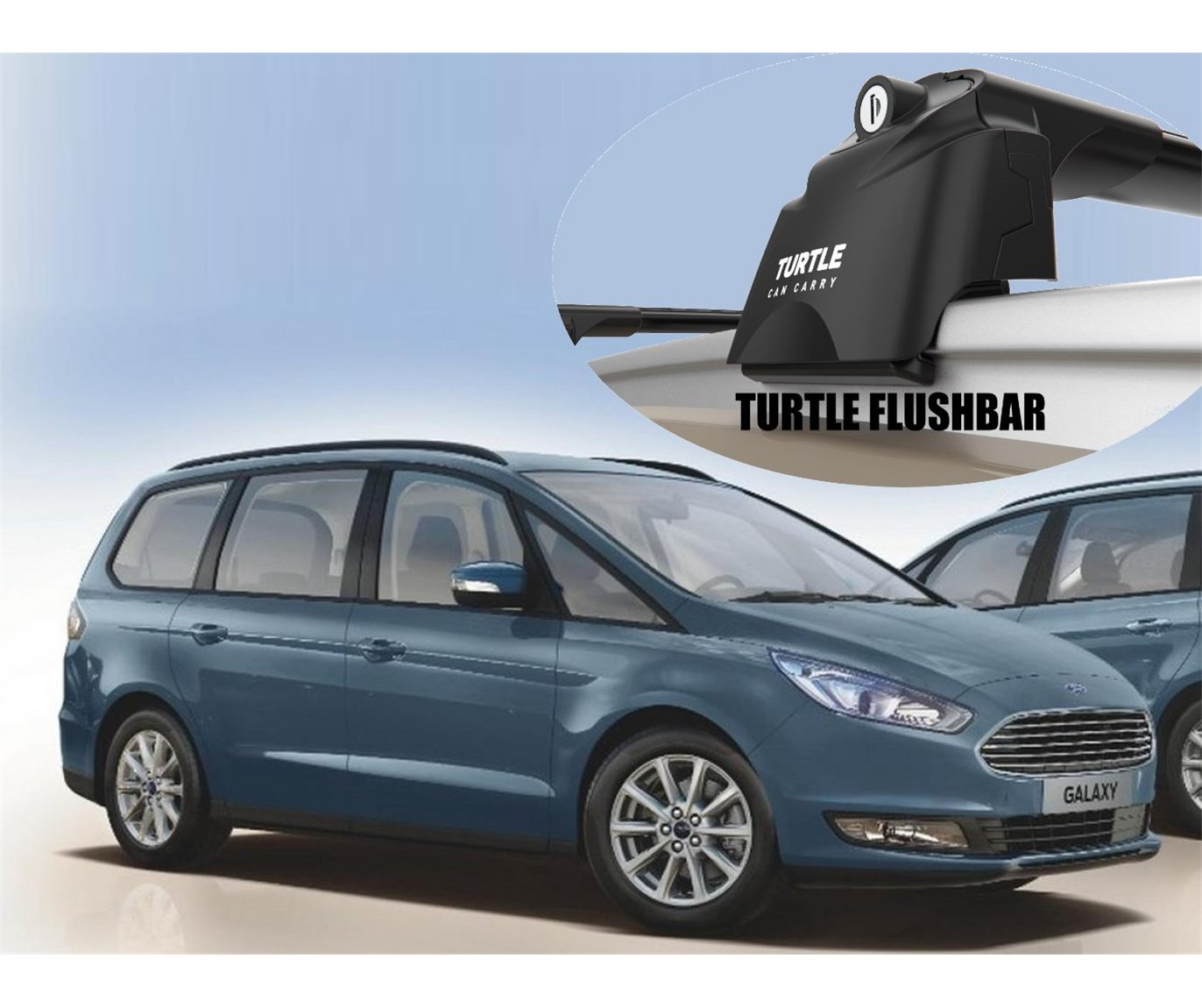 Ford Galaxy Aero Cross Bars Roof Rack