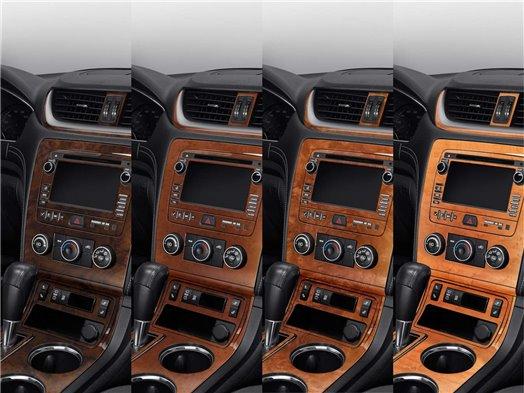 SUBARU Subaru Forester 2007-2008 Full Set, Automatic Gear, Manual Gearbox AC Interior BD Dash Trim Kit €59.99